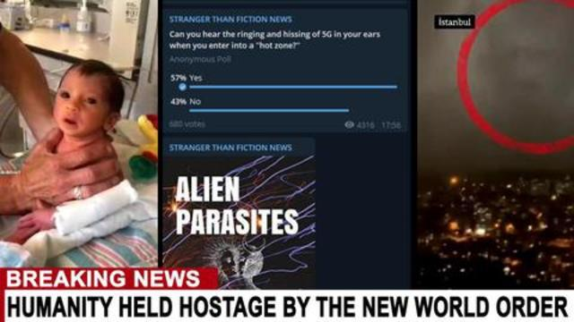 ARCHONS: ALIEN PARASITES HAVE INVADED THE WORLD - THE VACCINE IS THE VIRUS. THEY ARE HERE.